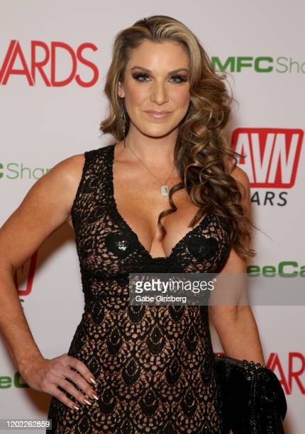 Adult film actress Kayla Paige attends the 2020 Adult Video News Awards at The Joint inside the Hard Rock Hotel & Casino on January 25, 2020 in Las...