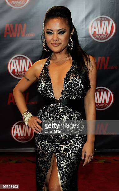 Adult film actress Kaylani Lei arrives at the 27th annual Adult Video News Awards Show at the Palms Casino Resort January 9, 2010 in Las Vegas,...