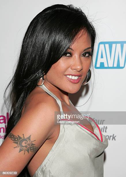 "Adult film actress Kaylani Lei attends the premiere of the documentary ""Naked Ambition: An R Rated Look at an X Rated Industry"" at Laemmle's Sunset 5..."