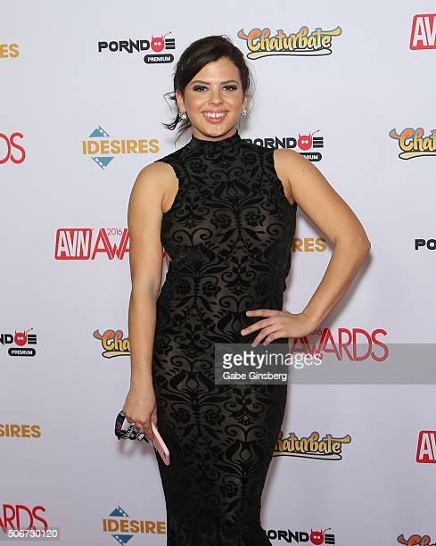 Adult film actress Keisha Grey attends the 2016 Adult Video News Awards at the Hard Rock Hotel Casino on January 23 2016 in Las Vegas Nevada