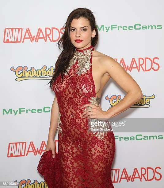 Adult film actress Keisha Grey attends the 2017 Adult Video News Awards at the Hard Rock Hotel Casino on January 21 2017 in Las Vegas Nevada