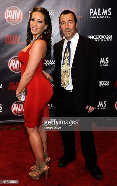 Adult Film Actress Kelly Divine And Adult Film Producer Director John Stagliano Arrive At The