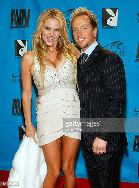 Adult film actress Kelly Madison and her husband Ryan Madison arrive at the 26th annual Adult Video News Awards Show at the Mandalay Bay Events...