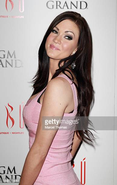 Adult Film Actress Kendall Karson Hosts A Preavn Awards Party At Tabu Inside The Mgm Grand