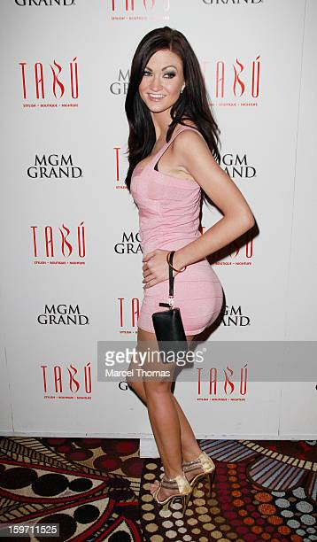 Adult film actress Kendall Karson hosts a preAVN Awards party at Tabu inside the MGM Grand on January 18 2013 in Las Vegas Nevada