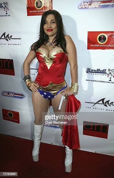 Adult film actress Kendra Jade attends Dave Navarro's Halloween Lingerie And Costume Ball at The Highlands on October 28 2006 in Hollywood California