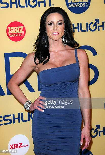 Adult Film actress Kendra Lust arrives for the 2013 XBIZ Awards held at the Hyatt Regency Century Plaza on January 11 2013 in Century City California