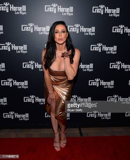 Adult film actress Kendra Lust celebrates her birthday at the Crazy Horse 3 Gentlemen's Club on September 14, 2019 in Las Vegas, Nevada.