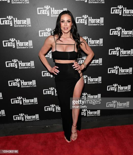 Adult film actress Kendra Lust hosts her birthday party celebration at Crazy Horse 3 Gentlemen's Club on September 15 2018 in Las Vegas Nevada