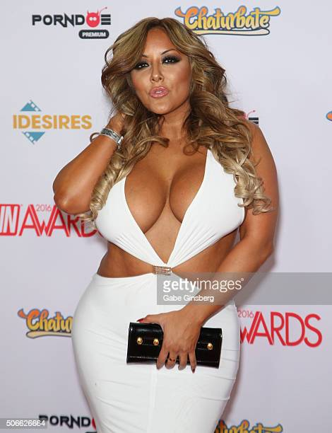 Adult film actress Kiara Mia attends the 2016 Adult Video News Awards at the Hard Rock Hotel & Casino on January 23, 2016 in Las Vegas, Nevada.