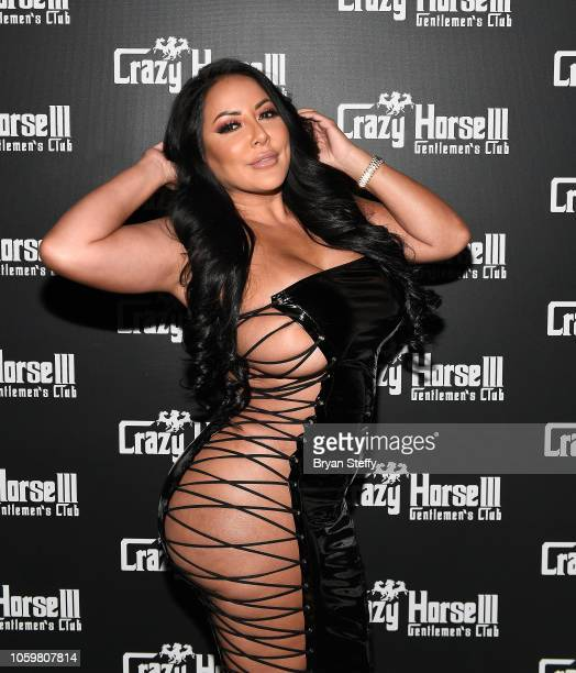 Adult film actress Kiara Mia hosts a latenight party at the Crazy Horse III Gentlemen's Club on November 9 2018 in Las Vegas Nevada