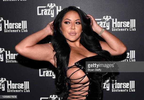 Adult film actress Kiara Mia hosts a late-night party at the Crazy Horse III Gentlemen's Club on November 9, 2018 in Las Vegas, Nevada