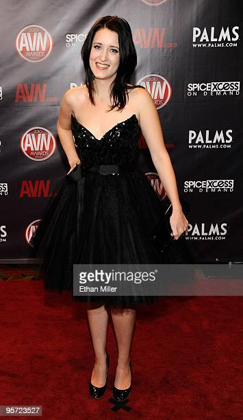 Adult film actress Kimberly Kane arrives at the 27th annual Adult Video News Awards Show at the Palms Casino Resort January 9 2010 in Las Vegas Nevada