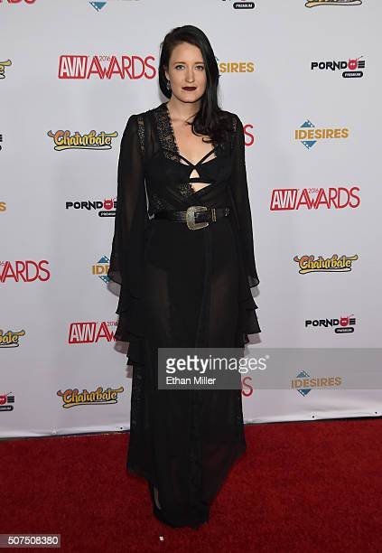 Adult film actress Kimberly Kane attends the 2016 Adult Video News Awards at the Hard Rock Hotel Casino on January 23 2016 in Las Vegas Nevada