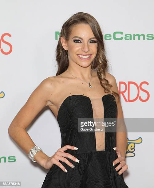 Adult film actress Kimmy Granger attends the 2017 Adult Video News Awards at the Hard Rock Hotel Casino on January 21 2017 in Las Vegas Nevada