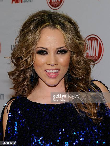 Adult film actress Kristina Rose arrives at the 29th annual Adult Video News Awards Show at the Hard Rock Hotel Casino January 21 2012 in Las Vegas...
