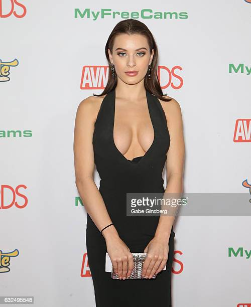 Adult film actress Lana Rhoades attends the 2017 Adult Video News Awards at the Hard Rock Hotel & Casino on January 21, 2017 in Las Vegas, Nevada.