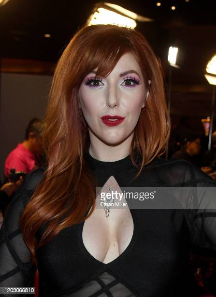 Adult film actress Lauren Phillips attends the 2020 Adult Video News Awards at The Joint inside the Hard Rock Hotel Casino on January 25 2020 in Las...
