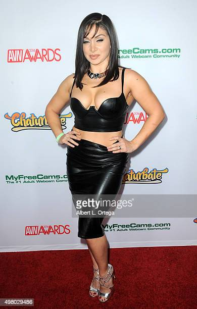 Adult film actress Lea Lexis at the 2016 AVN Awards Nomination Party held at Avalon on November 19 2015 in Hollywood California