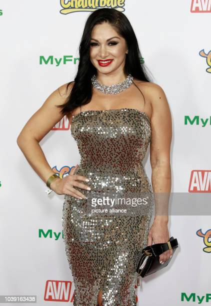 Adult film actress Lea Lexis attends the Adult Video News Awards AVN Awards at Hard Rock Hotel Casino in Las Vegas Nevada USA on 21 January 2017...