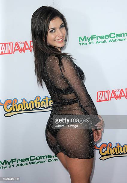 Adult film actress Leah Gotti at the 2016 AVN Awards Nomination Party held at Avalon on November 19 2015 in Hollywood California