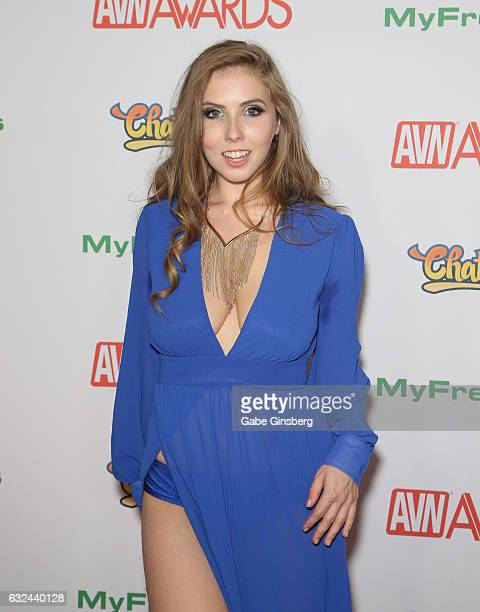 Adult film actress Lena Paul attends the 2017 Adult Video News Awards at the Hard Rock Hotel Casino on January 21 2017 in Las Vegas Nevada