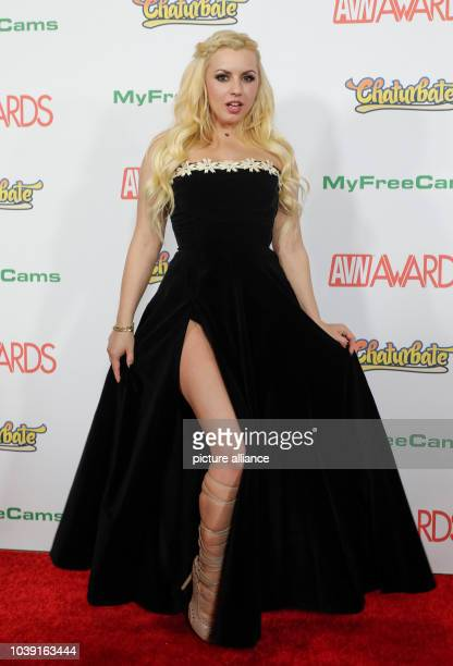 Adult film actress Lexi Belle attends the Adult Video News Awards, AVN Awards, at Hard Rock Hotel & Casino in Las Vegas, Nevada, USA, on 21 January...
