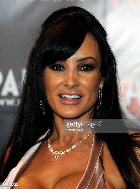 Adult film actress Lisa Ann arrives at the 27th annual Adult Video News Awards Show at the Palms Casino Resort January 9 2010 in Las Vegas Nevada