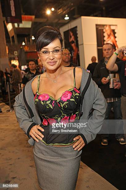 Adult film actress Lisa Ann attends day 2 of the 2009 AVN Adult Entertainment Expo at the Sand Expo Convention Center on January 10 2009 in Las Vegas...