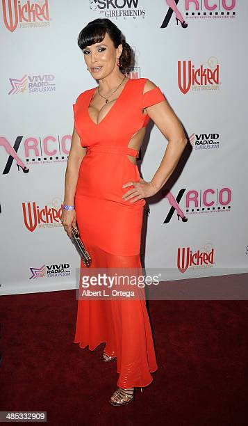 Adult film actress Lisa Ann attends The BIG Annual 30th XRCO Awards hosted by Ron Jeremy held at OHM at Hollywood Highland on April 16 2014 in...
