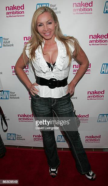 Adult film actress Lisa DeMarco attends the premiere of the documentary Naked Ambition An R Rated Look at an X Rated Industry at Laemmle's Sunset 5...