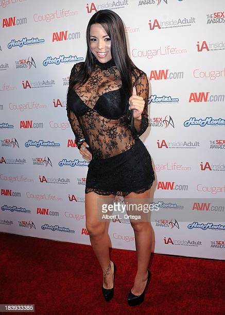 Adult film actress Luna Star arrives for The 1st Annual Sex Awards 2013 held at Avalon on October 9 2013 in Hollywood California