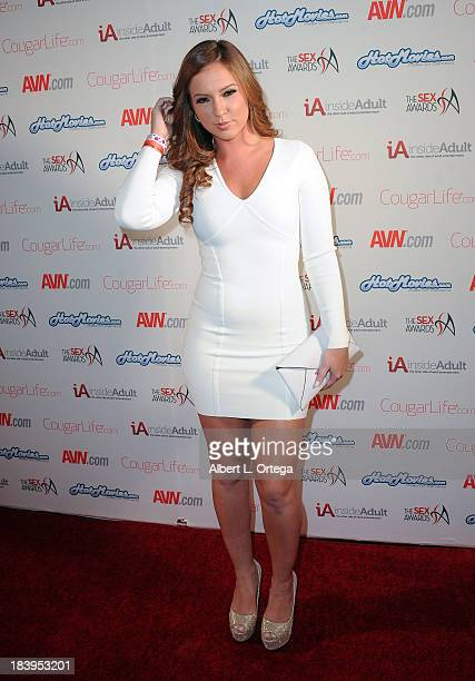 Adult film actress Maddy O'Reilly arrives for The 1st Annual Sex Awards 2013 held at Avalon on October 9 2013 in Hollywood California