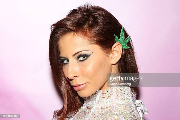 Adult film actress Madison Ivy attends the 2014 AVN Adult Entertainment Expo at the Hard Rock Hotel Casino on January 15 2014 in Las Vegas Nevada