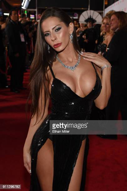 Adult film actress Madison Ivy attends the 2018 Adult Video News Awards at the Hard Rock Hotel Casino on January 27 2018 in Las Vegas Nevada