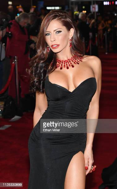 Adult film actress Madison Ivy attends the 2019 Adult Video News Awards at The Joint inside the Hard Rock Hotel & Casino on January 26, 2019 in Las...