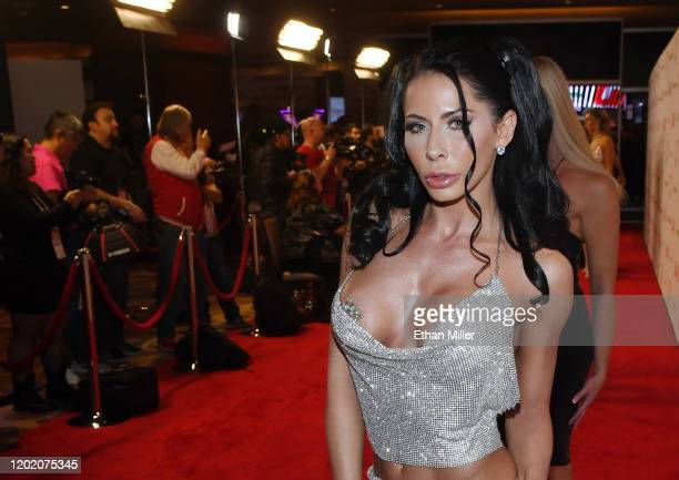 Adult film actress Madison Ivy attends the 2020 Adult Video News Awards at The Joint inside the Hard Rock Hotel Casino on January 25 2020 in Las...