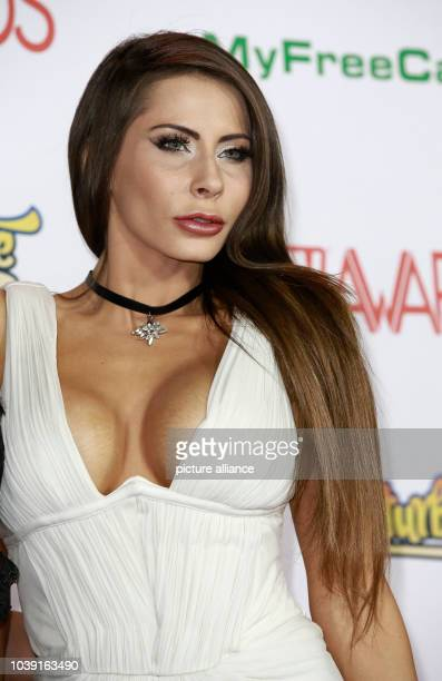 Adult film actress Madison Ivy attends the Adult Video News Awards, AVN Awards, at Hard Rock Hotel & Casino in Las Vegas, Nevada, USA, on 21 January...