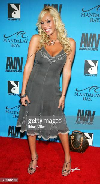 Adult film actress Mary Carey arrives at the 24th annual Adult Video News Awards Show at the Mandalay Bay Events Center January 13, 2007 in Las...