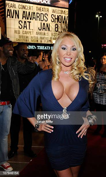 Adult film actress Mary Carey arrives at the 28th annual Adult Video News Awards Show at the Palms Casino Resort January 8 2011 in Las Vegas Nevada
