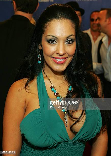 Adult film actress Mercedes arrives at the Adult Video News Awards Show at the Venetian Resort Hotel and Casino January 7 2006 in Las Vegas Nevada