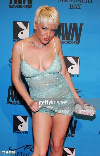 Adult Film Actress Missy Monroe Arrives At The 24th Annual Adult Video News Awards Show At