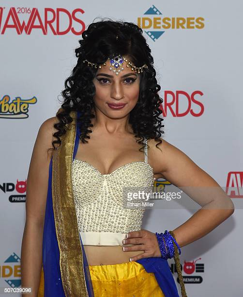 Adult film actress Nadia Ali attends the 2016 Adult Video News Awards at the Hard Rock Hotel Casino on January 23 2016 in Las Vegas Nevada