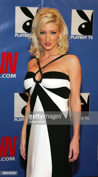 Adult film actress Nadia Hilton arrives at the Adult Video News Awards Show at the Venetian Resort Hotel and Casino January 7 2006 in Las Vegas Nevada