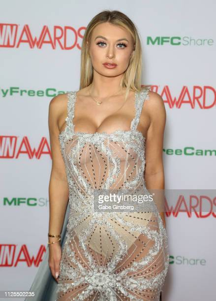 Adult film actress Natalia Starr attends the 2019 Adult Video News Awards at The Joint inside the Hard Rock Hotel Casino on January 26 2019 in Las...