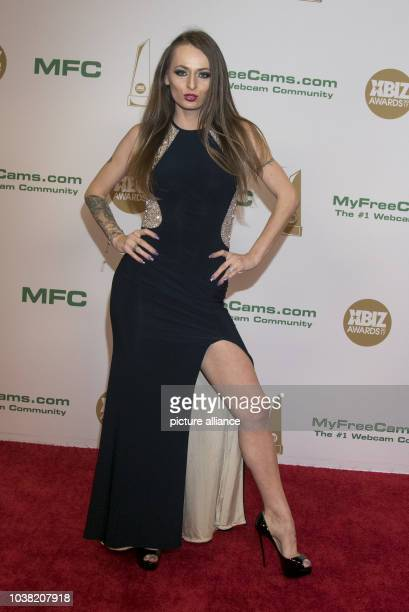 Adult Film Actress Natasha Starr Arrives At The Xbiz Awards At Hotel Westin Bonaventure In Los