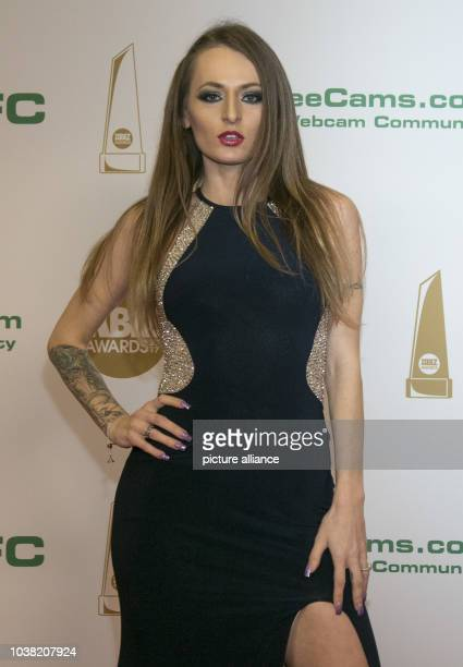 Adult film actress Natasha Starr arrives at the XBIZ Awards at Hotel Westin Bonaventure in Los Angeles USA on 12 January 2017 Photo Hubert Boesl...