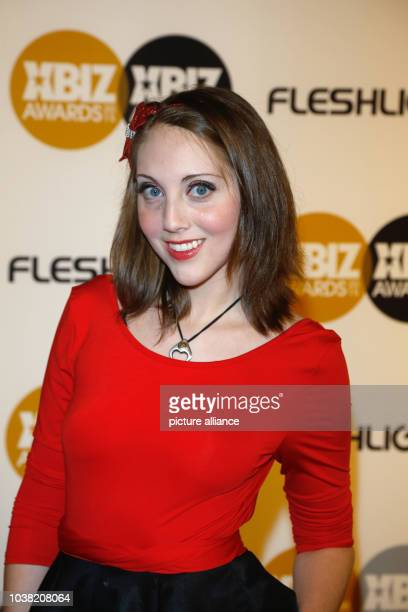 Adult Film Actress Nickey Huntsman Arrives At The 2015 Xbiz Awards In Los Angeles Usa On
