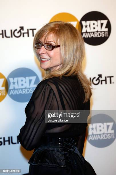 Adult film actress Nina Hartley arrives at the 2015 Xbiz Awards in Los Angeles USA on 15 January 2015 Photo Hubert Boesl NOWIRESERVICE | usage...
