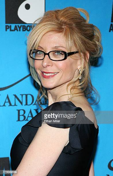 Adult film actress Nina Hartley arrives at the 24th annual Adult Video News Awards Show at the Mandalay Bay Events Center January 13, 2007 in Las...